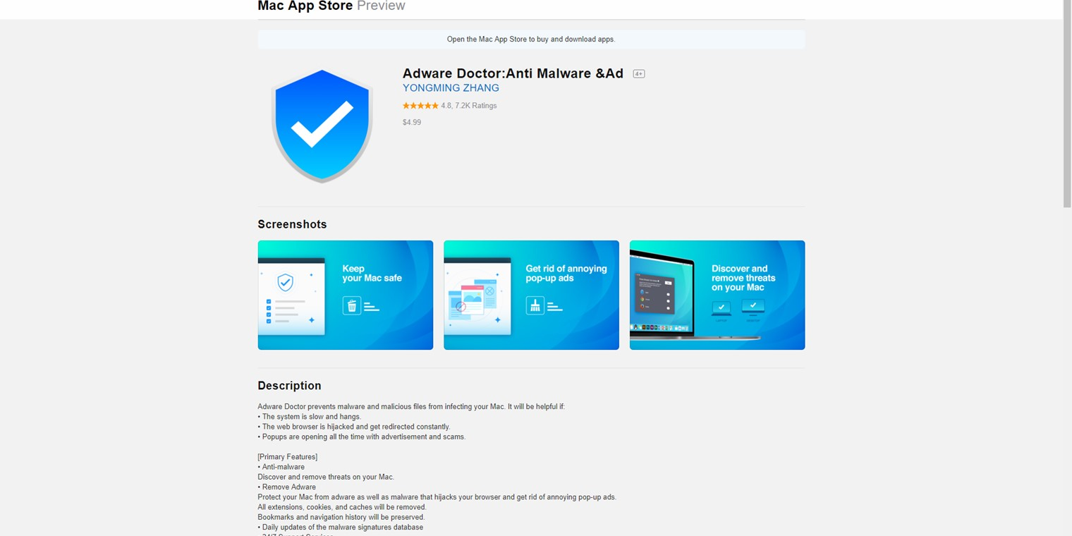 Top selling Mac App Store adware scanner stole browsing