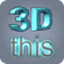 3Dthis icon