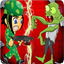 Army Infantryman And Zombie icon