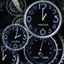 Black Clock Live Wallpaper icon