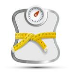 BMI calculator and weight loss tracker icon