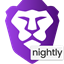 Brave Nightly icon