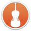 Cellist icon
