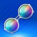 Icon chromatic glass