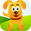 Cute Dog's Puzzles icon