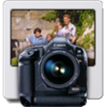 Icono de foto digital profesional