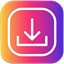 downloader for instagram icon