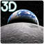 Earth and Moon Parallax 3D icon