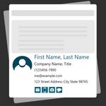 Email Signature Creator Icon