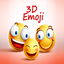 Emoji 3D Stickers icon