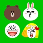 Emoji keyboard on LINE icon