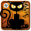 Fear on Halloween night icon