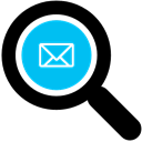 Search email address icon