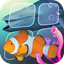 Fish Farm 3: 3D Aquarium Live Wallpaper icon