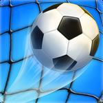 Soccer strike icon