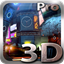Futuristic City 3D Live Wallpaper icon