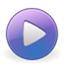 Gnome media player icon