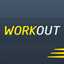 Gym Workout Trainer and Tracker icon