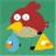 I hate Angry Birds Icon
