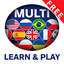Learn and play MULTI lingual icon