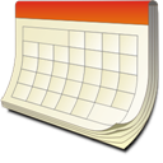 Lightning Calendar Icon