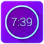Neon Alarm Clock icon