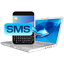 Numbers for sms verification icon