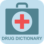 Offline Drug Dictionary: Free - Medical Icon