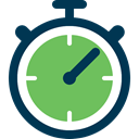 Online stopwatch and timers icon