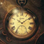 Oplao Gold Clock icon
