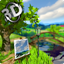Parallax Nature Summer Day 3D Gyro Wallpaper icon