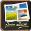 Photos to Albums icon