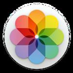 Icono de fotos de apple