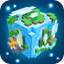 Planet of Cubes Survival Craft icon