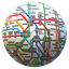 Public transport maps offline - The whole world icon