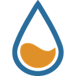 Rain gauge icon
