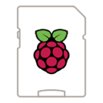Raspberry Pi operating system icon