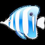 Sea shore icon