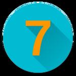 Sieben icon
