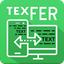 TexFer: Free Text Transfer Between Mobile Desktop icon