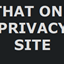That One Privacy Site icon