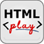 HTML play icon
