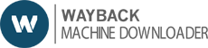 Wayback Machine Downloader by wayback2hosting icon