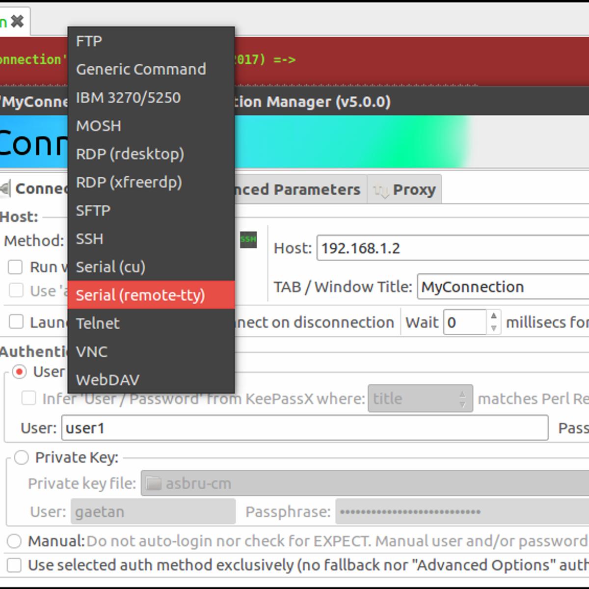 Ásbrú Connection Manager Alternatives and Similar Software