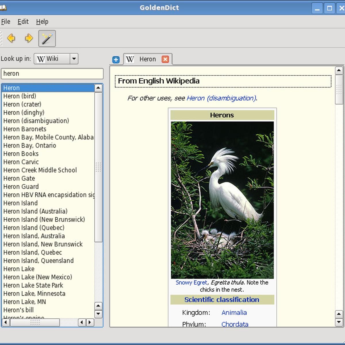 GoldenDict Alternatives for Mac - AlternativeTo net