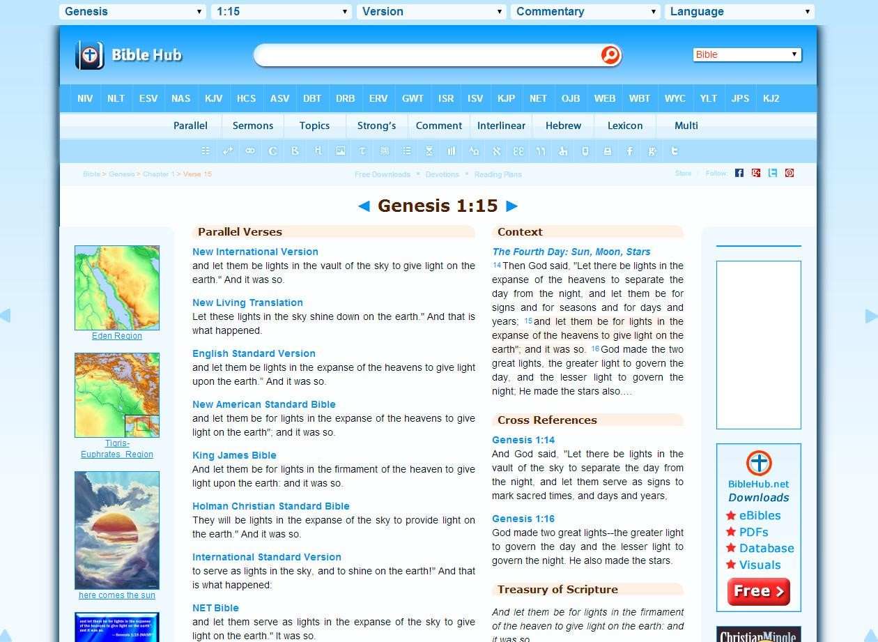 Biblehub Alternatives and Similar Apps and Websites