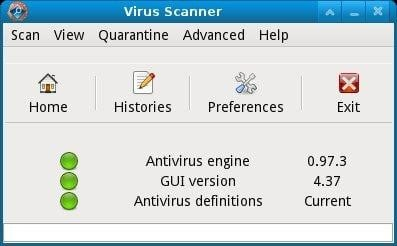 how to update clamtk virus definitions