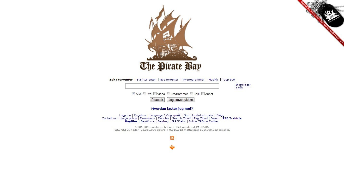 The Pirate Bay Alternatives and Similar Websites and Apps