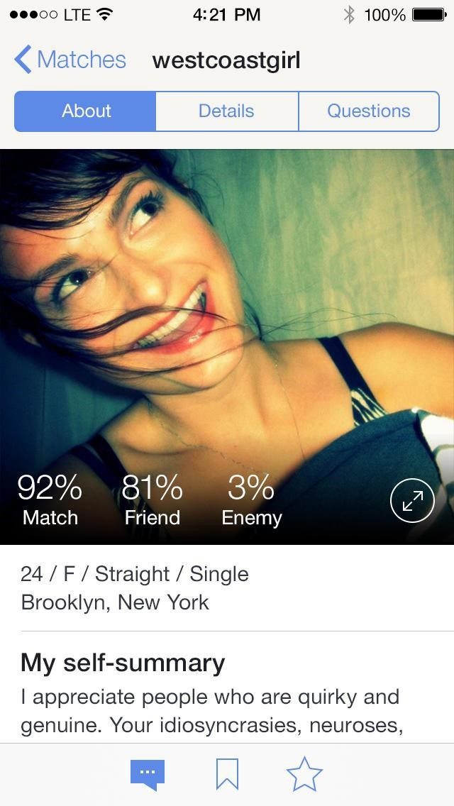 Okcupid dating enemy
