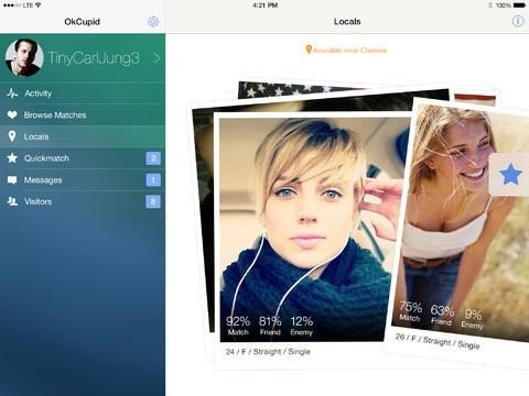 dating websites similar to okcupid '#1 trusted dating site every day, an average of 438 singles marry a match they found on eharmony it's free to review your single, compatible matches.